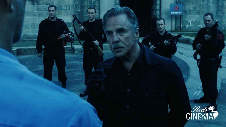 Don Johnson en Brawl on Cell Block 99