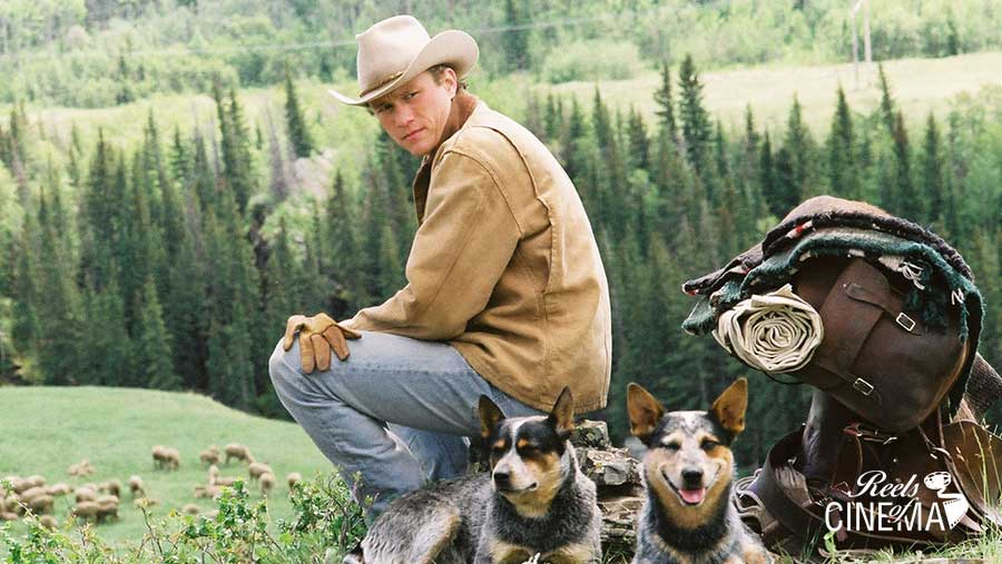 Heath Ledger en Brokeback Mountain