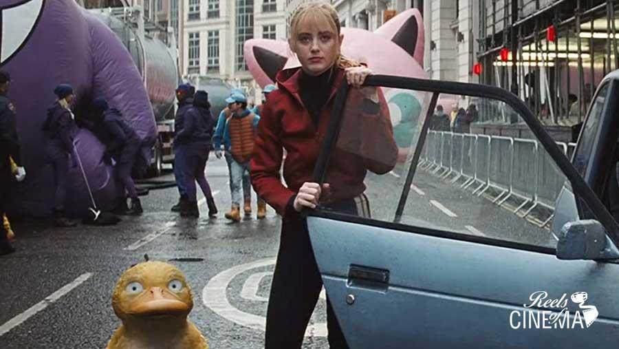 Kathryn Newton en Detective Pikachu