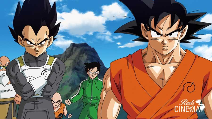 Vegeta y Goku en Dragon Ball Z: La resurección de F