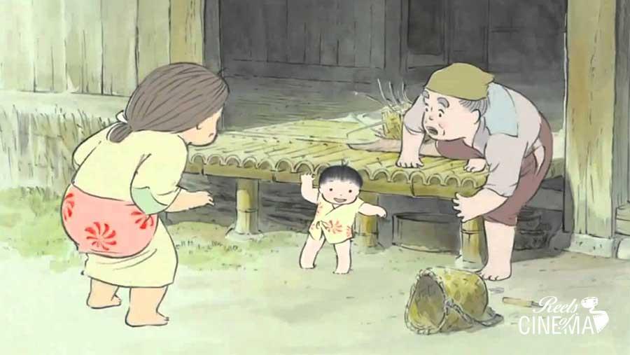 Imagen de El cuento de la princesa Kaguya
