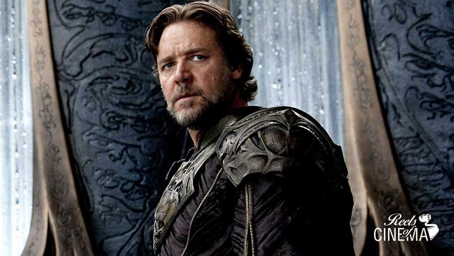 Russell Crowe en El hombre de acero