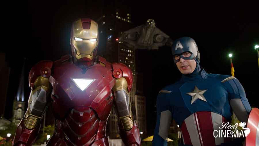 Iron Man y el Capitán América