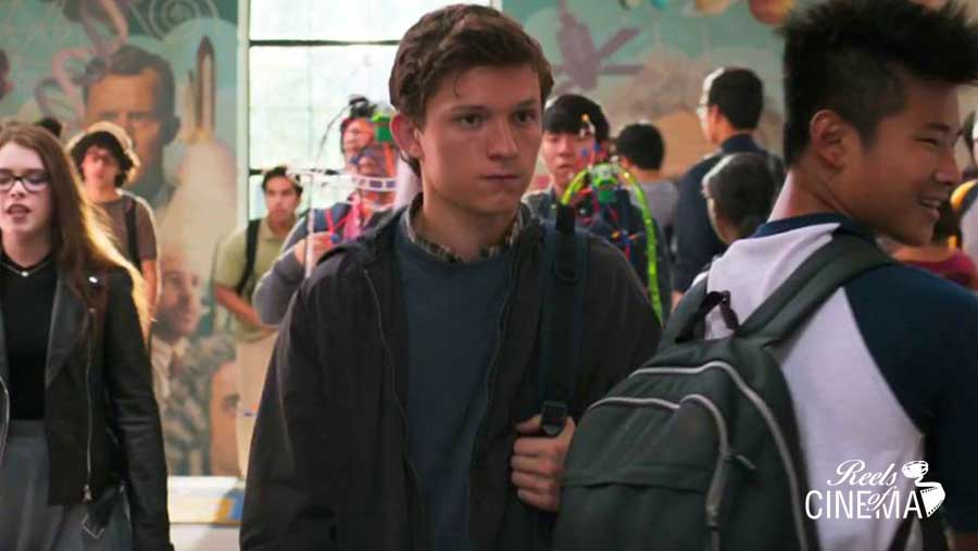 Tom Holland en Spiderman: Homecoming