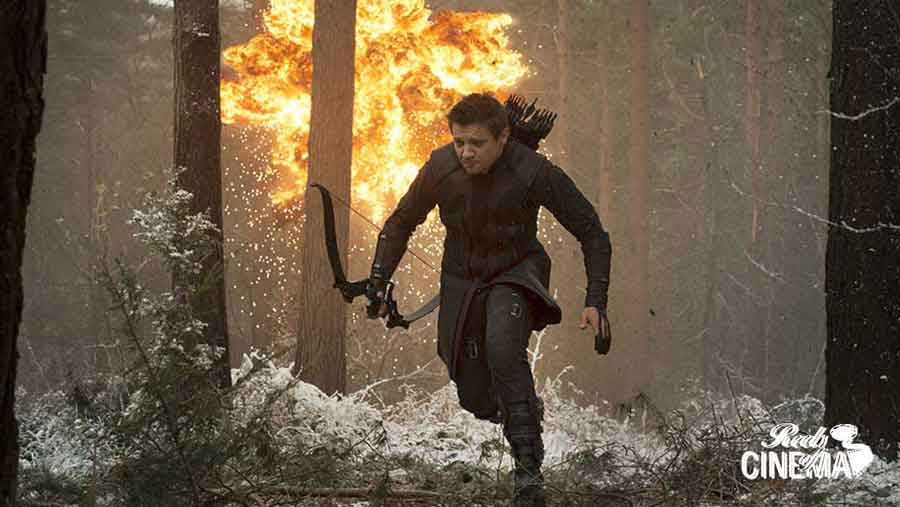 Jeremy Renner en Vengadores: La era de Ultrón
