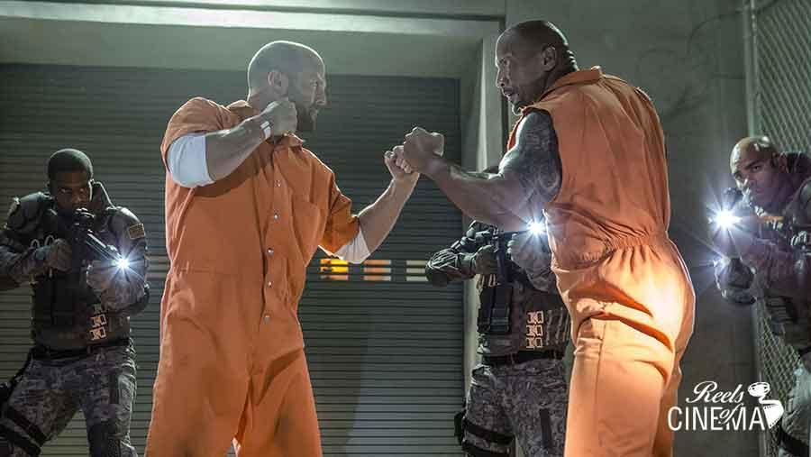 Jason Statham vs The Rock