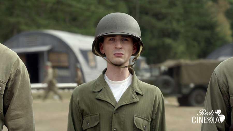 Chris Evans en Capitán América: El primer vengador