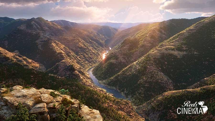 Los paisajes de El viaje de Arlo
