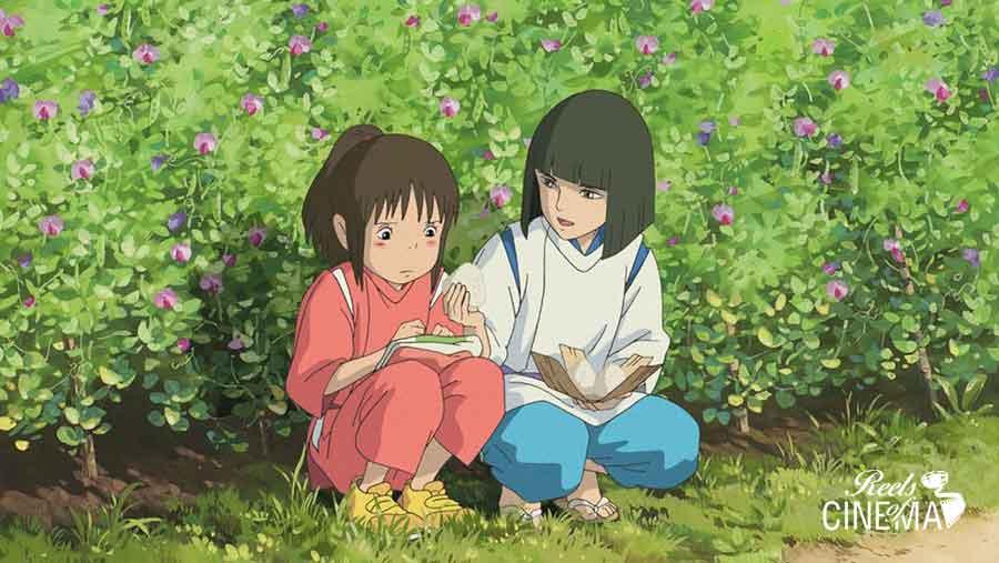 Chihiro y Haku