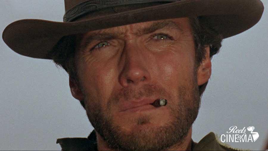Clint Eastwood en Por un puñado de dólares