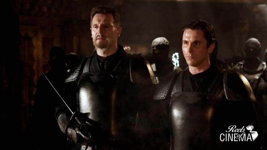 Liam Neeson y Christian Bale