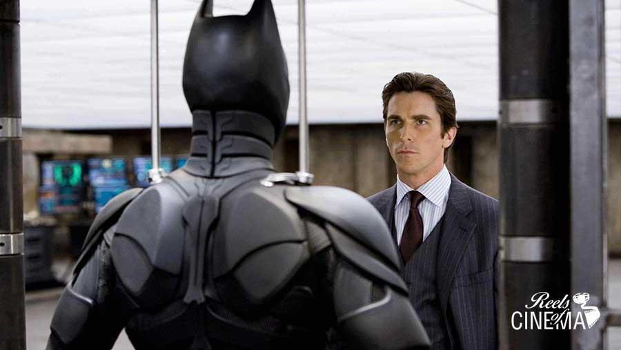Christian Bale en El caballero oscuro