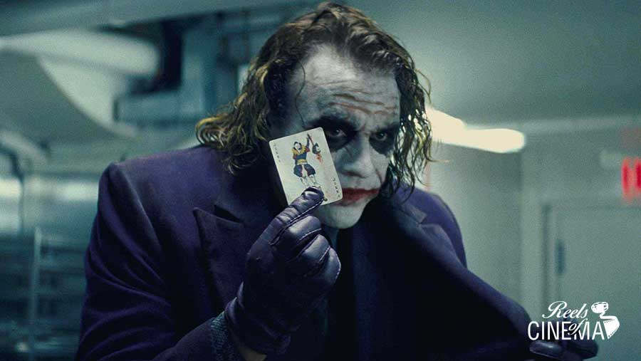Heath Ledger es el Joker