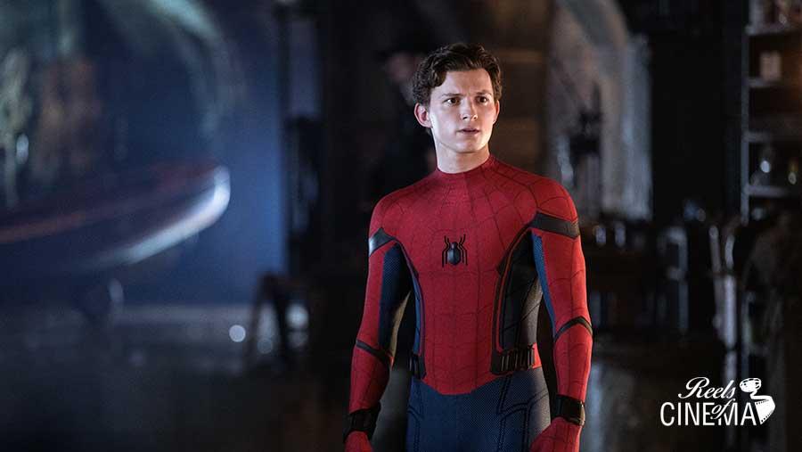Tom Holland en Spiderman: Lejos de casa
