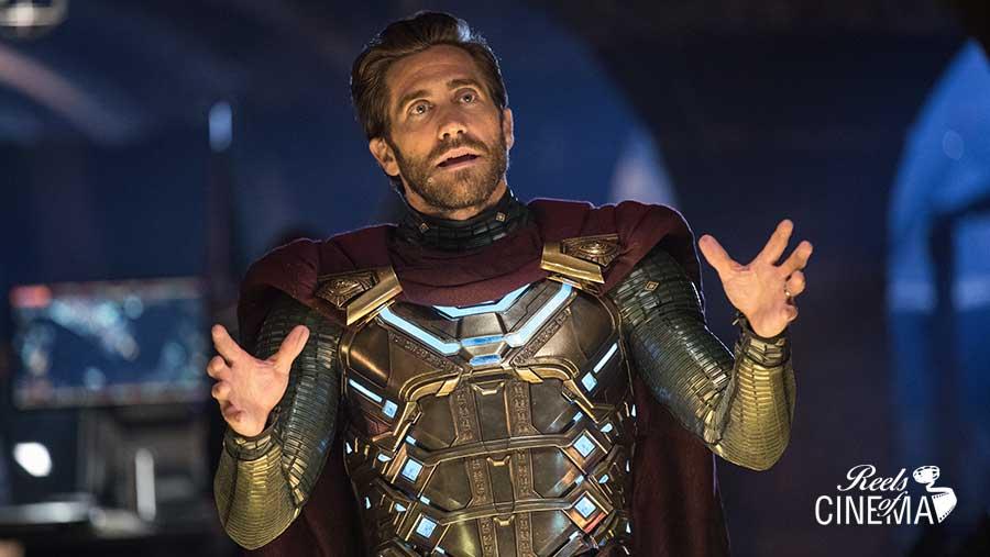 Jake Gyllenhaal en Spiderman: Lejos de casa