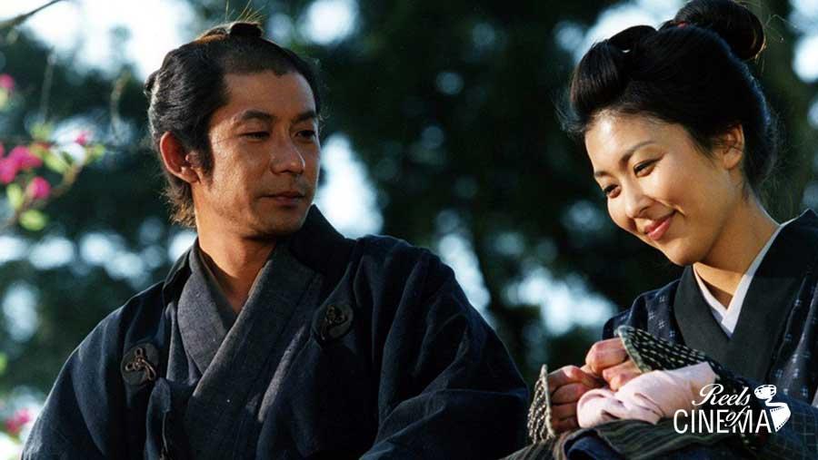 Masatoshi Nagase y Takako Matsu