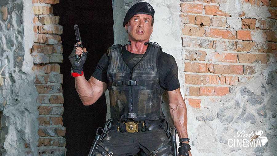 Sylvester Stallone en Los mercenarios 3