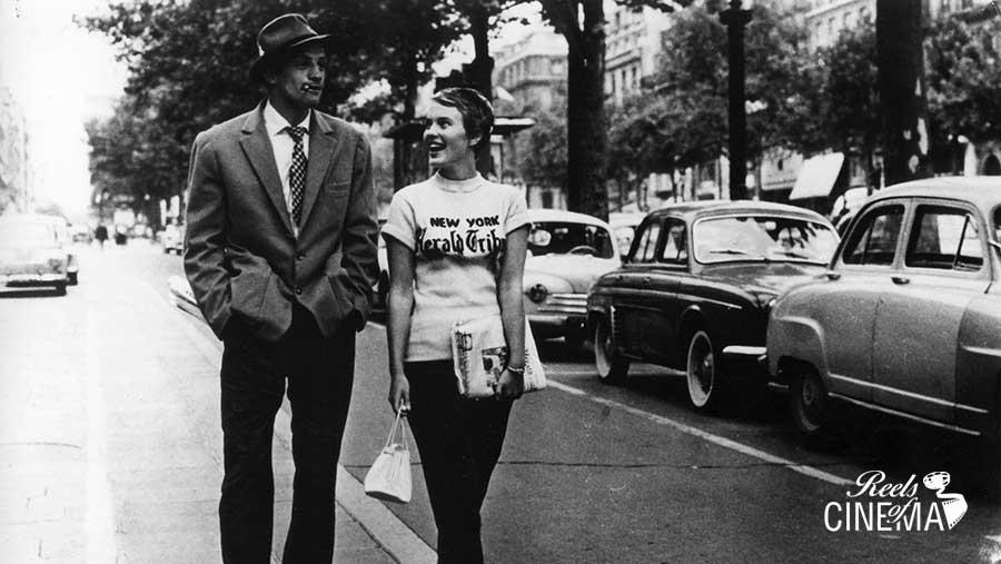 Al final de la escapada, de Jean-Luc Godard