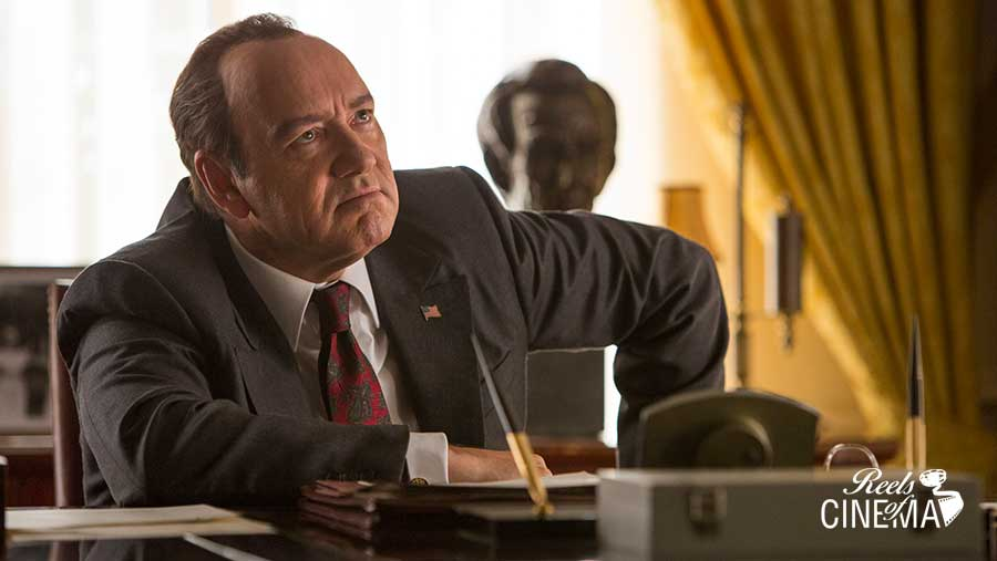 Kevin Spacey en Elvis & Nixon