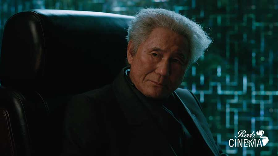 Takeshi Kitano en Ghost in the Shell: El alma de la máquina
