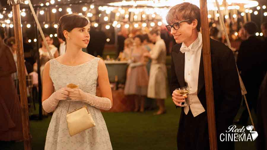 Felicity Jones y Eddie Redmayne