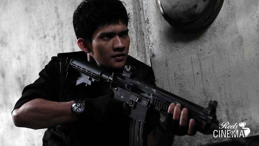 Uko Uwais en The Raid: Redada asesina