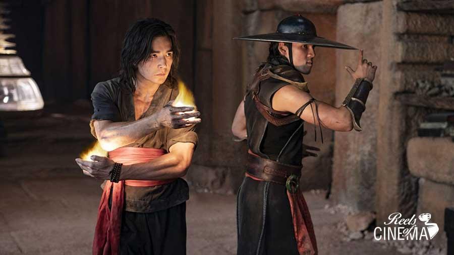 Liu Kang (Ludi Lin) y Kung Lao (Max Huang)