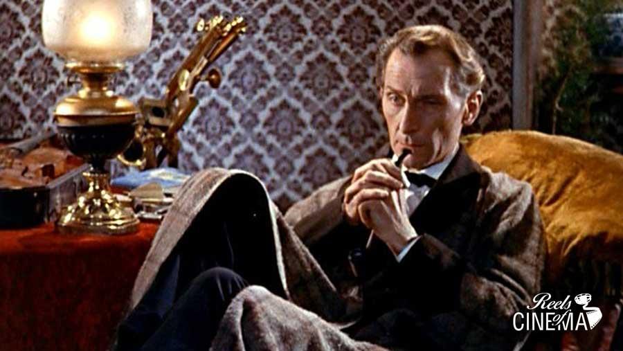 Peter Cushing en El perro de Baskerville