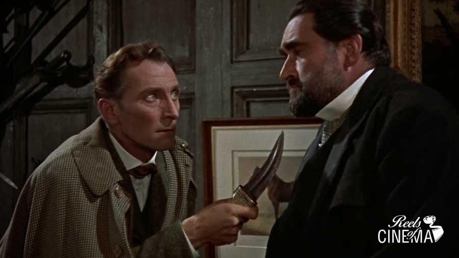 Sherlock y el Dr Mortimer (Francis De Wolff)